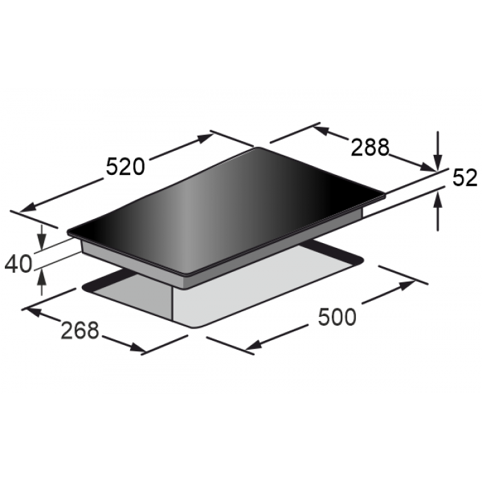 Електричні Варильні поверхні Kaiser KCT 3721 F