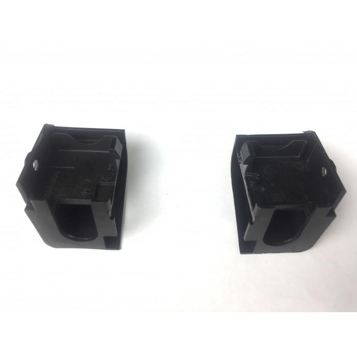 Верхні фіксатори внутрішнього скла на плити шириною 50 см. Kaiser 8026850_8026851